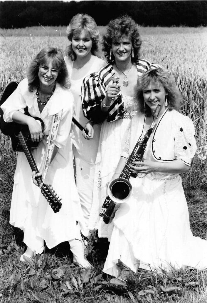 Queens of Heart 1989 - Foto schwarz/weiß
