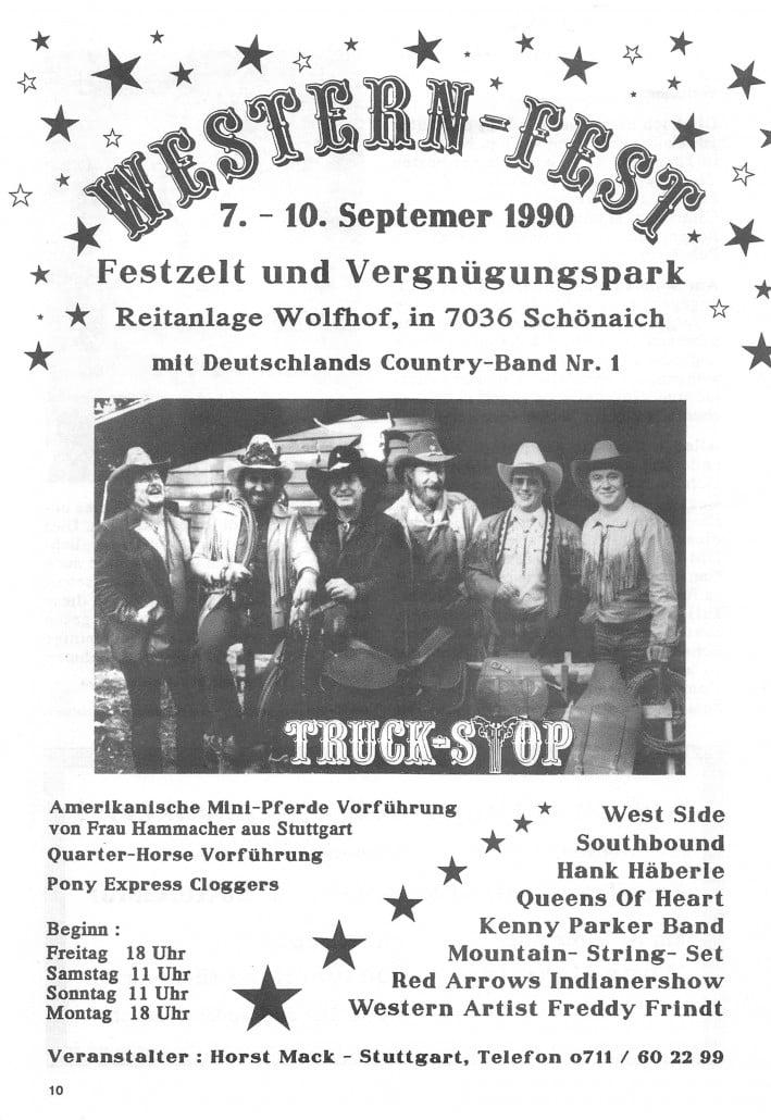 Queens of Heart 1990 - Westernfest in Schönaich