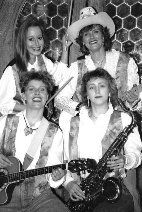 Queens of Heart 1991 - Foto schwarz/weiß