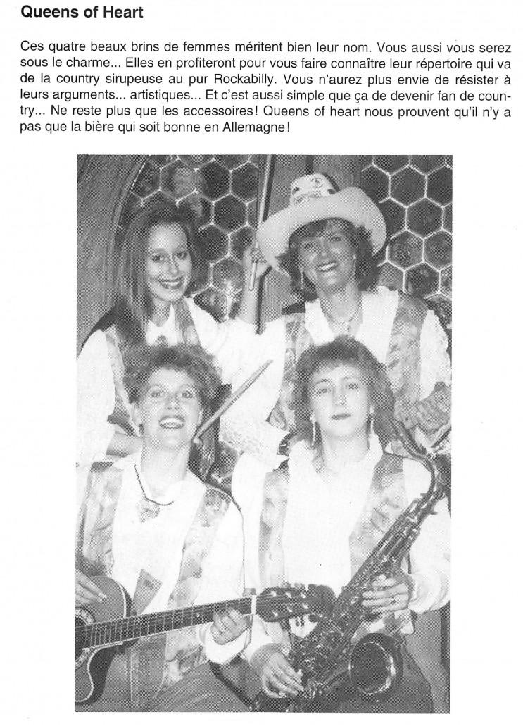 Queens of Heart 1992 - Bussigny