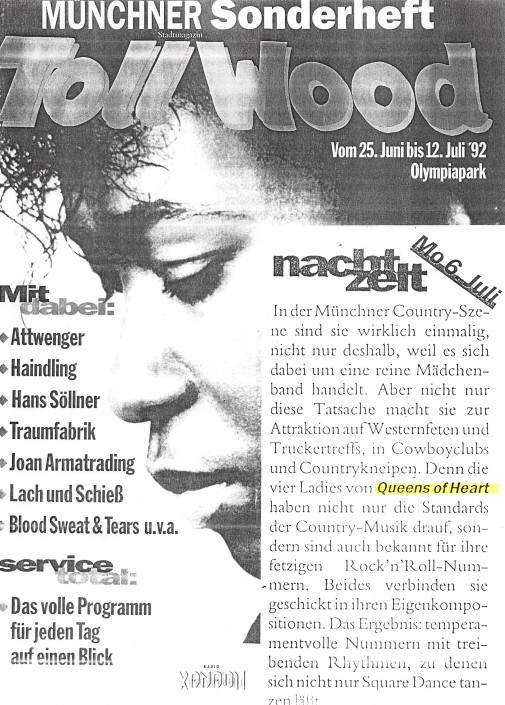 Queens of Heart 1992 - Münchner Tollwood