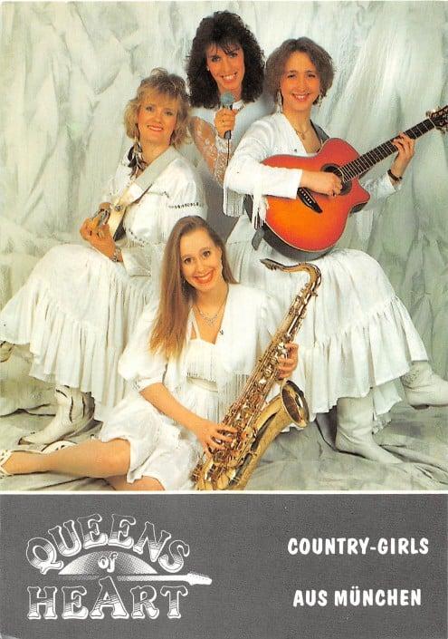 Queens of Heart 1993 - Autogrammkarte