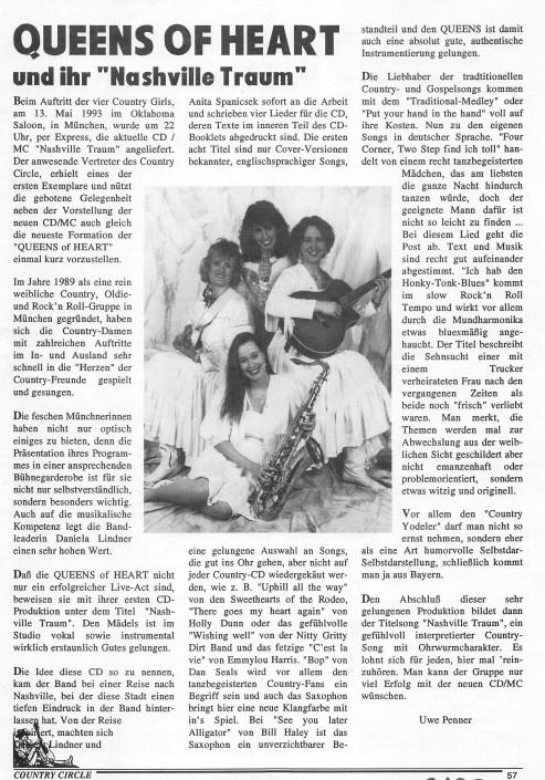 1993 Nashville-Traum CD Rezension