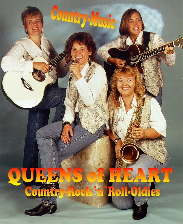 1995 - Queens of Heart - Country-Rock'n'Roll-Oldies