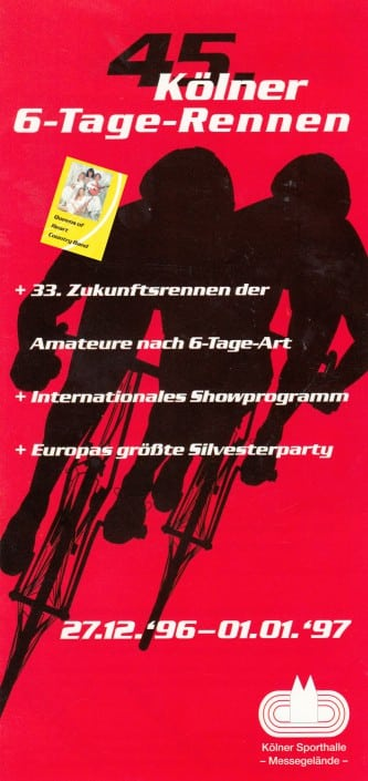 1996 - Queens of Heart beim Kölner Sechstagerennen