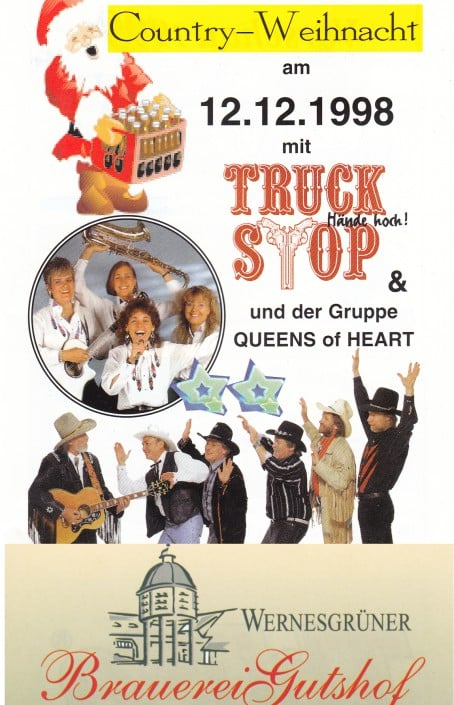 1998 - Queens of Heart - Wernesgrüner - mit Truck Stop