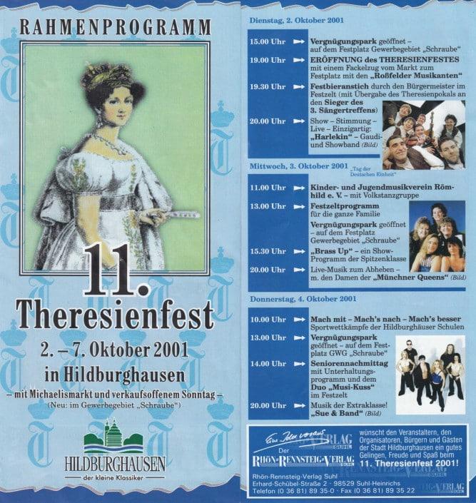 Münchner Queens 2001- Hildburghausen Theresienfest