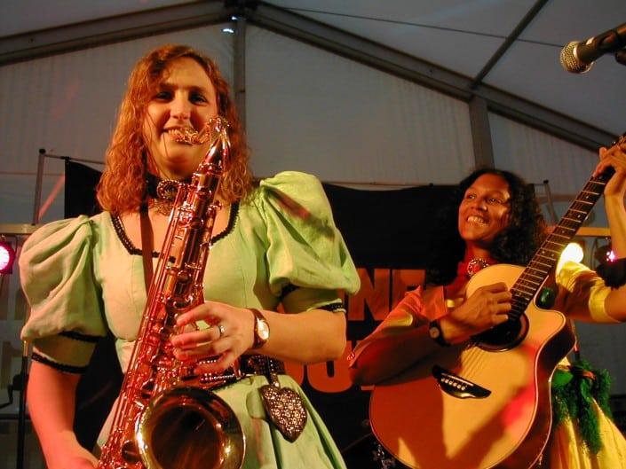 2003 - Saxophon und Gitarre