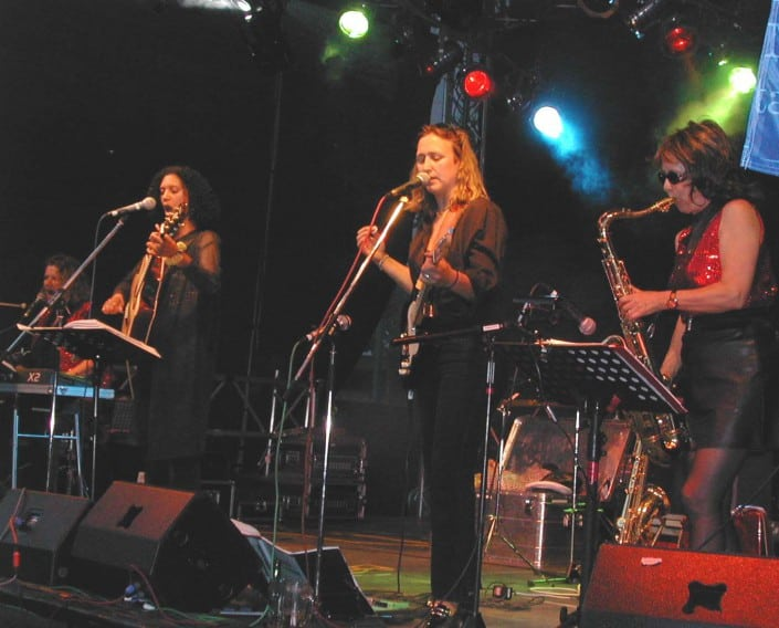 Queens of Heart - Kassel 2003, Saxophon