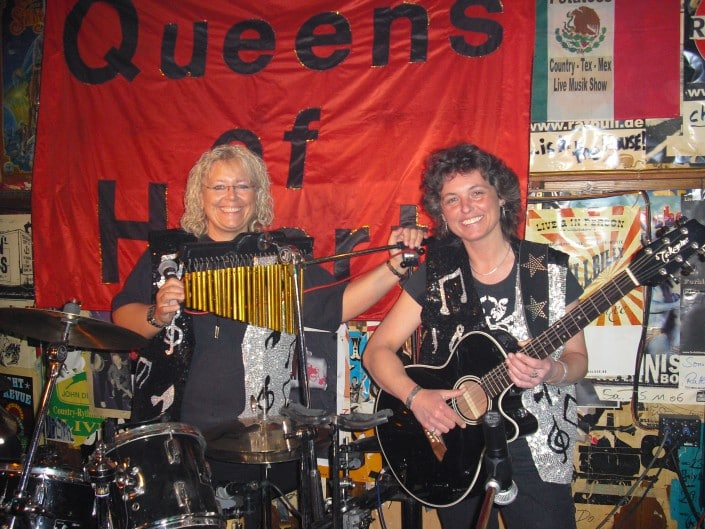 Queen of Hearts 2008, Judith und Andrea